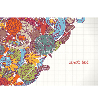 Free doodles background vector - Free vector #257565