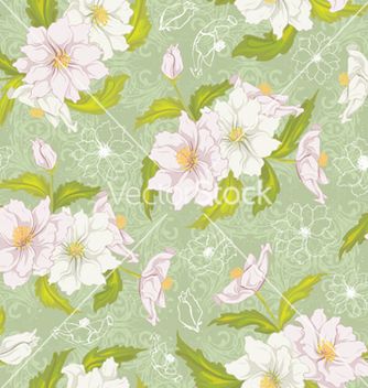 Free colorful floral pattern vector - vector #257825 gratis