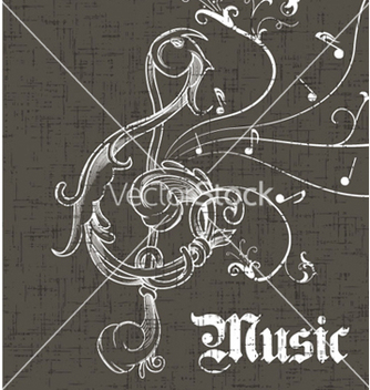 Free music background vector - vector gratuit #258065