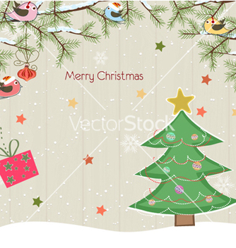 Free christmas background vector - Kostenloses vector #258115