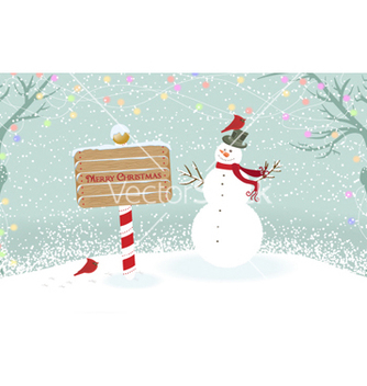 Free christmas greeting card vector - Free vector #258255
