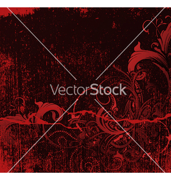 Free vintage floral background vector - vector gratuit #258325