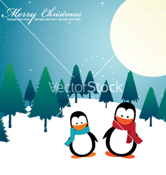 Free christmas greeting card vector - Kostenloses vector #258355