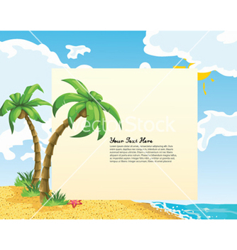 Free summer background vector - Free vector #258375