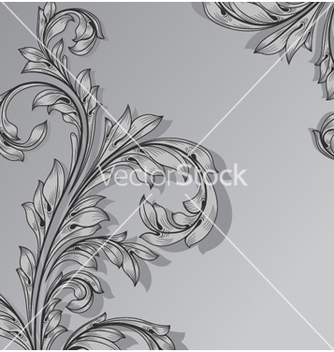 Free abstract floral background vector - Free vector #258415