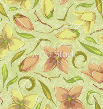 Free colorful floral pattern vector - vector #258745 gratis