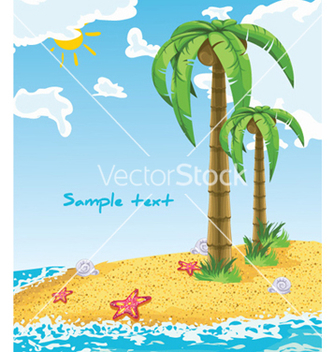 Free summer background vector - Kostenloses vector #259245