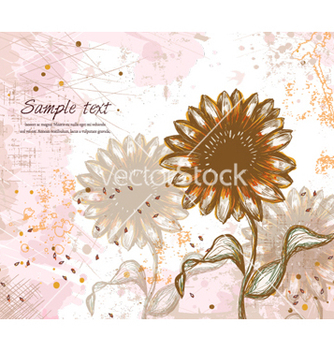 Free colorful floral background vector - бесплатный vector #259445