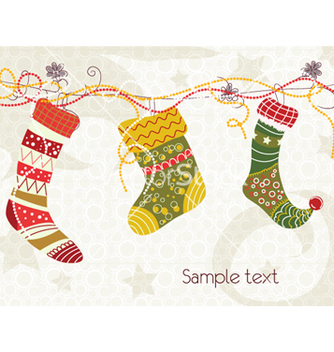 Free colorful socks vector - vector gratuit #259625