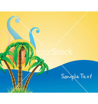 Free abstract summer background vector - Free vector #259895