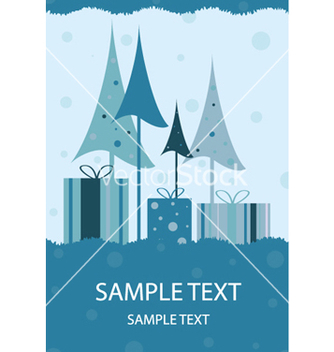 Free christmas greeting card vector - Kostenloses vector #260005