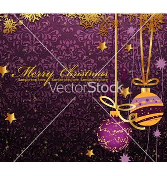 Free christmas background vector - бесплатный vector #260025