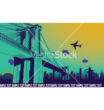Free urban background vector - Free vector #260085