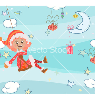 Free christmas background vector - Free vector #260195
