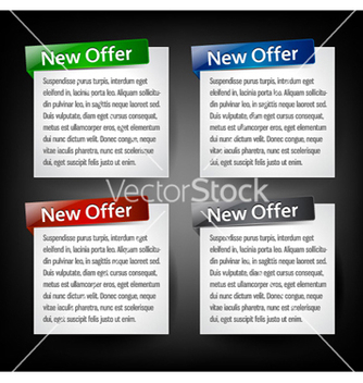 Free web banners vector - Kostenloses vector #260365