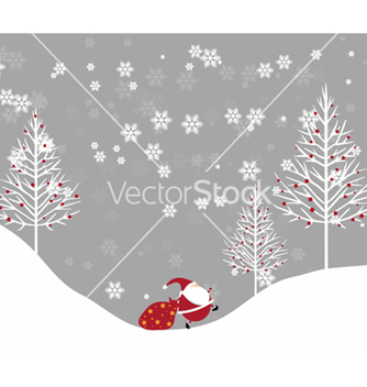 Free christmas background vector - Free vector #260465