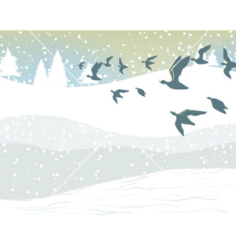 Free winter background vector - vector #260515 gratis