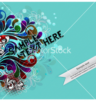 Free colorful abstract background vector - Kostenloses vector #260775