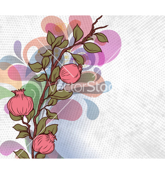 Free abstract floral background vector - Kostenloses vector #260815