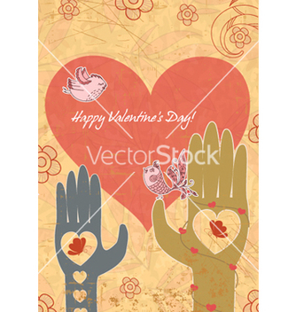 Free birds in love vector - vector #260905 gratis