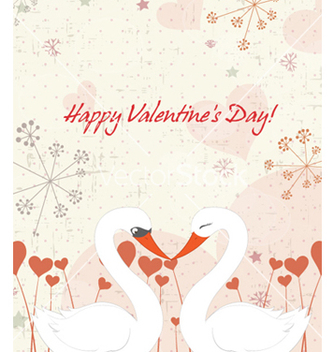 Free birds in love vector - vector #261325 gratis