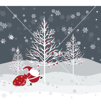 Free christmas background vector - Kostenloses vector #261395