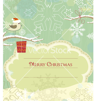 Free bird with present vector - vector #261495 gratis