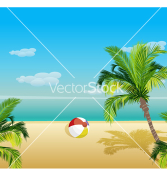 Free summer background vector - Free vector #261505