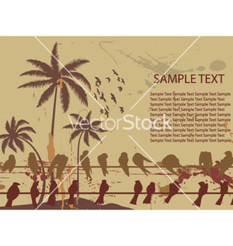 Free vintage summer background vector - Free vector #261615