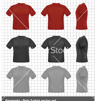 Free tshirt set vector - бесплатный vector #261735