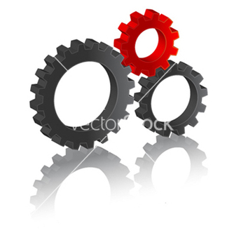 Free business gears vector - vector #262445 gratis