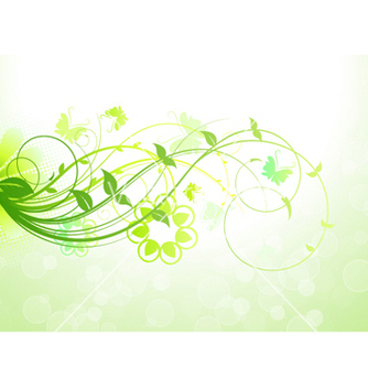 Free spring floral background vector - Kostenloses vector #262455