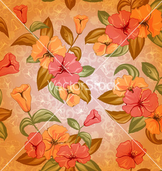 Free colorful floral pattern vector - vector #262465 gratis