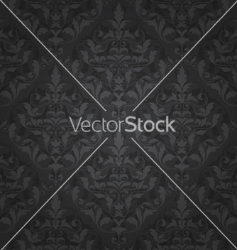 Free damask seamless pattern vector - бесплатный vector #262475