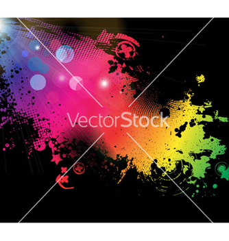 Free grunge colorful background vector - Kostenloses vector #262605