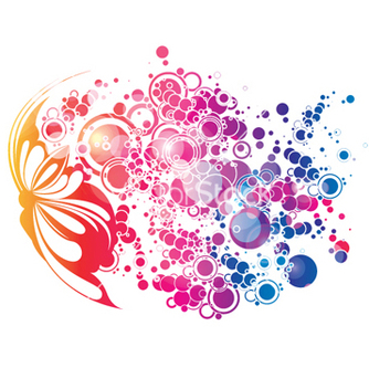 Free colorful abstract vector - Free vector #262645