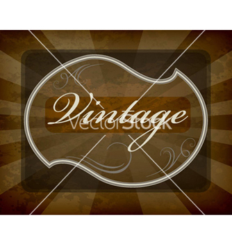 Free vintage label vector - бесплатный vector #263305