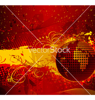 Free grunge abstract background vector - Free vector #263345