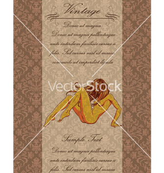 Free vintage background vector - Free vector #263755