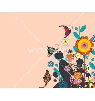 Free retro background vector - vector #263775 gratis