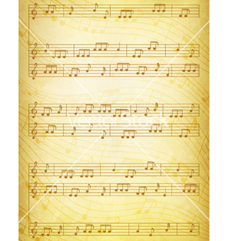 Free vintage music background vector - Free vector #263875
