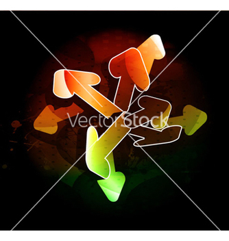 Free colorful 3d arrows vector - Free vector #264075