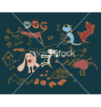 Free funny doodles vector - Free vector #264235