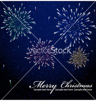 Free christmas greeting card vector - бесплатный vector #264445