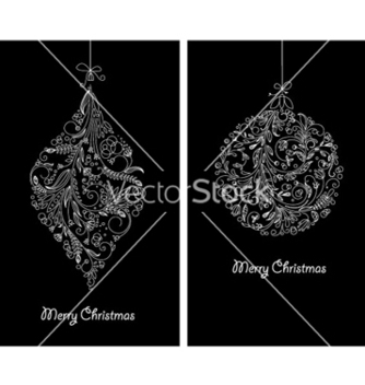 Free christmas balls made of floral vector - Kostenloses vector #264515