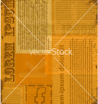Free old newspaper texture vector - Free vector #264795