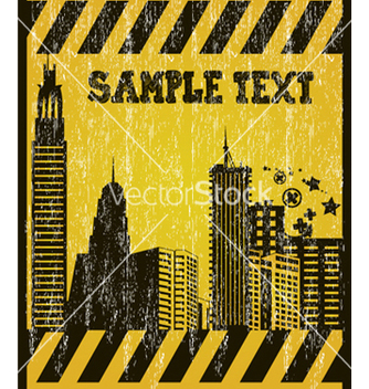 Free grunge under construction sign vector - Kostenloses vector #265335