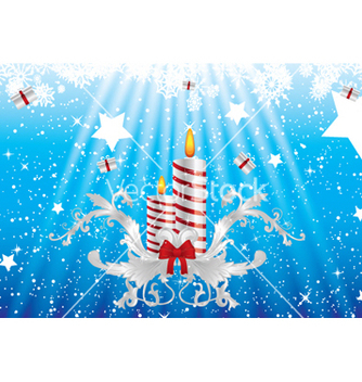 Free christmas greeting card vector - Kostenloses vector #265425