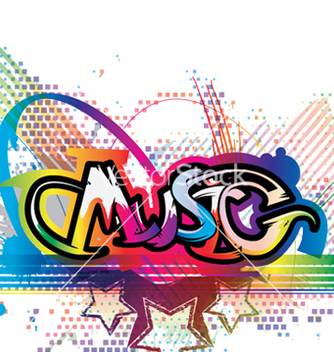 Free colorful music background vector - Free vector #265525