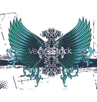 Free grunge wings vector - Kostenloses vector #265665